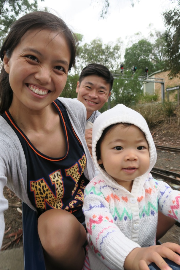 Miniature train ride @ Diamond Vally Railway.