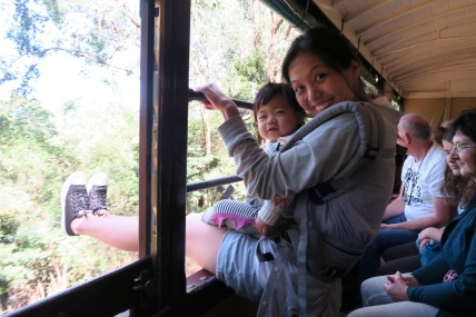 How to ride the Puffing billy train 101.