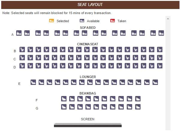 Seat Layout